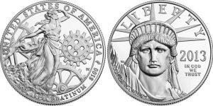 American Platinum Coin. 1oz .9995
