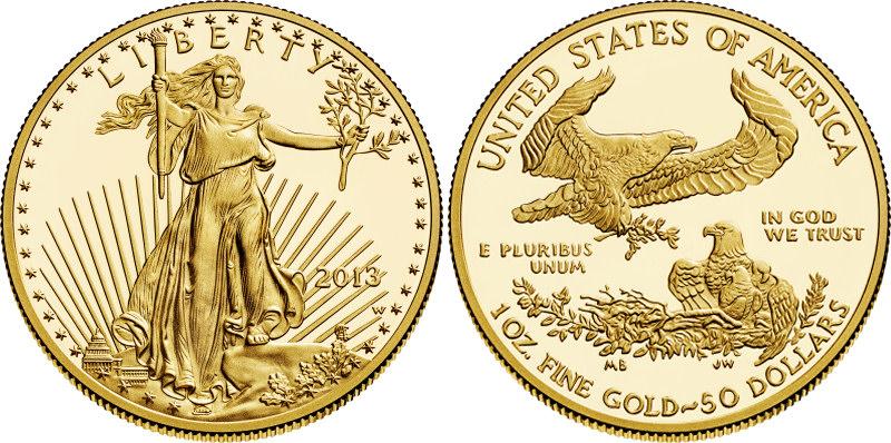 Liberty $50 22k Crowngold