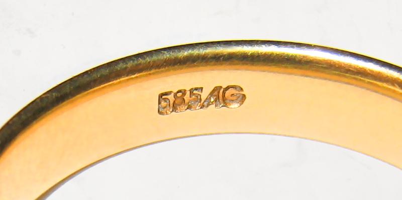 Carat Fineness Gold Hallmark Stamp
