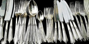 We buysterling silverware, flatware, tableware